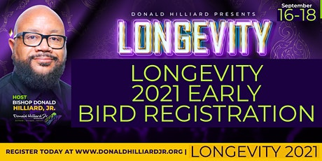LONGEVITY GATHERING 2021 - BUILDING LASTING LEGACY tickets