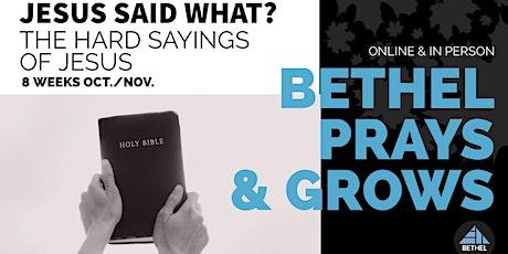 Bethel Grows Registration tickets
