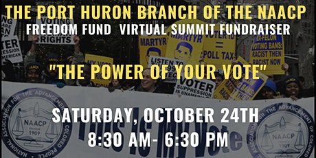 Port Huron Branch of the NAACP Virtual Freedom Fund tickets