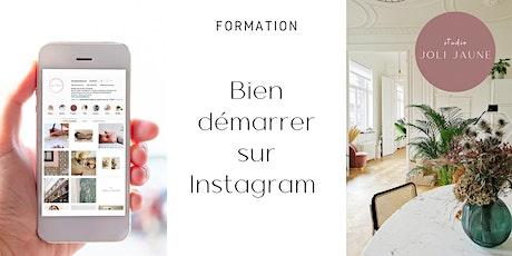 Formation : Bien démarrer sur Instagram tickets