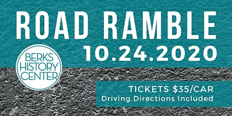 Berks History Center 2020 Road Ramble tickets