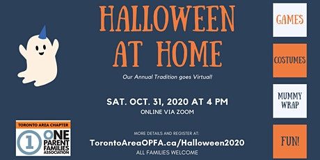 Halloween at Home with Toronto Area OPFA tickets