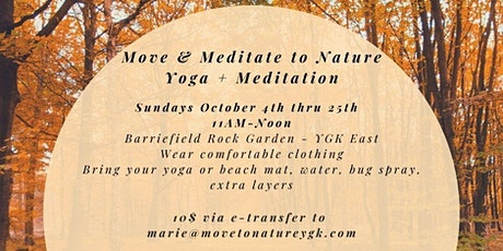Move & Meditate To Nature at the Barriefield Rock Garden tickets