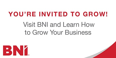 Derby 1 BNI Networking & Referrals breakfast meeting (Online) tickets