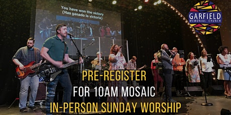 Mosaic 10AM Worship Service tickets