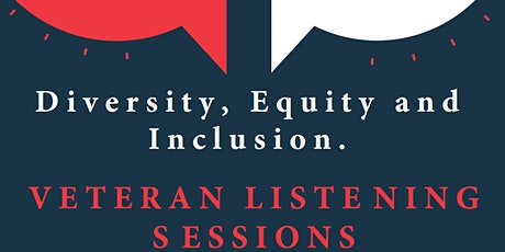 Veteran Listening Sessions: Addressing Systemic Racism with Veteran systems tickets