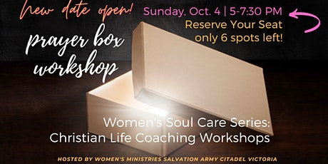(Sunday) Prayer Box Workshop - Hosted by Women's Ministries Salvation Army tickets