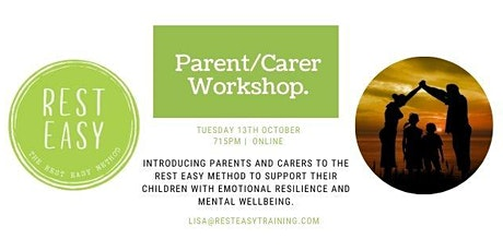 Supporting Your Child's Mental Health & Wellbeing - Parent/Carer Workshop tickets