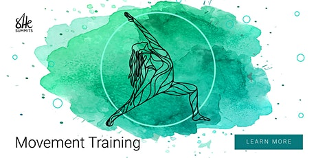 She Summits Movement Training with Guest Teacher (December 4) tickets