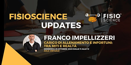 Franco Impellizzeri - Carico di allenamento ed infortuni: tra miti e realtà biglietti