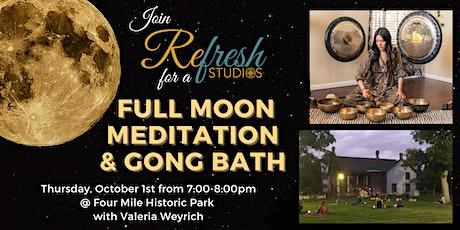 Full Moon Meditation & Gong Bath tickets
