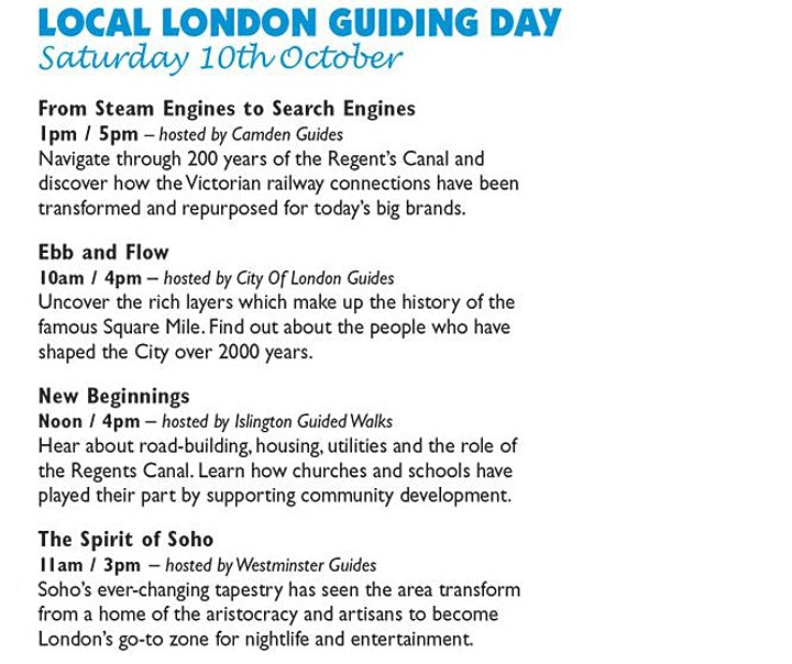 Local London Guiding Day 2020: London on the Move virtual tour image