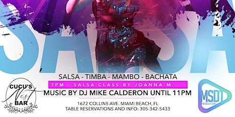 SALSAHOLICS FRIDAYS tickets
