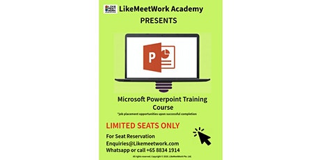 Microsoft PowerPoint Training Course tickets