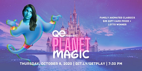 QE Trivia 026: Magic Planet tickets