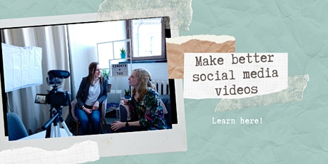 Make Better Social Media Videos tickets