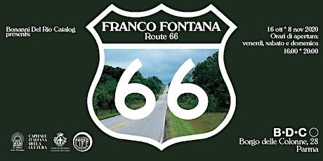 Franco Fontana - Route 66 biglietti