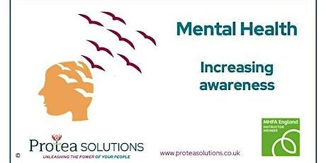 Mental health – increasing awareness tickets