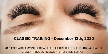 Eyelash Extension Training by Pearl Lash Jacksonville, FL tickets