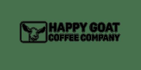 Atelier sur le café avec Happy Goat Coffee tickets