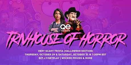 QE Trivia 030: Trivhouse of Horror - Part 2 (Halloween Edition) tickets