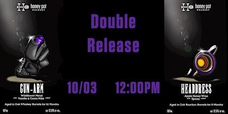 Gunarm & Headdress - Weapon Series - 4 & 5 out of 9 - Bottle Release tickets