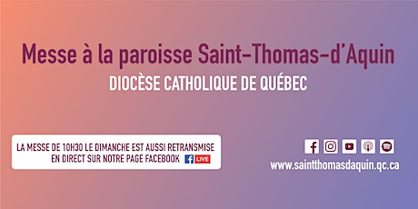 Messe Saint-Thomas-d'Aquin - Mercredi 30 septembre 2020 billets