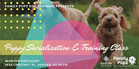 Puppy Socialization & Training Class at Ironton Distillery & Crafthouse tickets