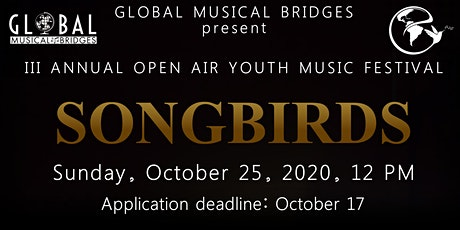 3rd ANNUAL SONGBIRTH YOUTH MUSIC FESTIVAL tickets