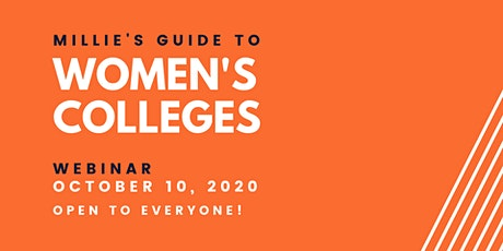 WEBINAR | Millie's Guide to US Women's Colleges tickets