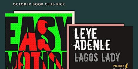 Book & Brunch Montréal: Leye Adenle | Lagos Lady | Easy Motion Tourist tickets