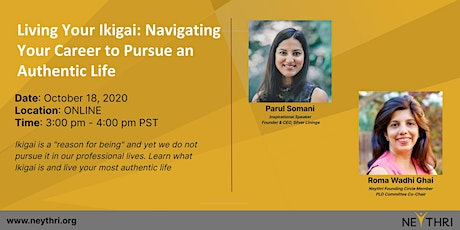 Living Your Ikigai: Navigating Your Career to Pursue an Authentic Life tickets