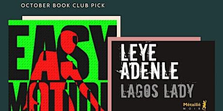 Book & Brunch Paris : Leye Adenle Lagos Lady   Easy Motion Tourist billets