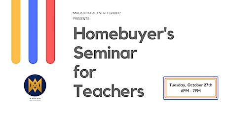 Nevada Homebuyer's Seminar for Teachers tickets