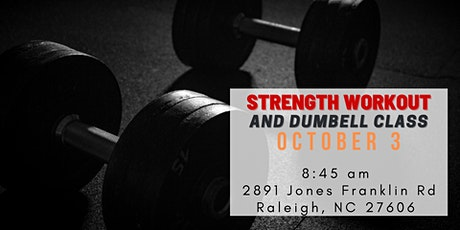 Free Strength workout and barbell class tickets