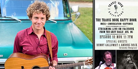 Travis Book Happy Hour ft Benny G. & Anders B. (of Greensky Bluegrass) tickets