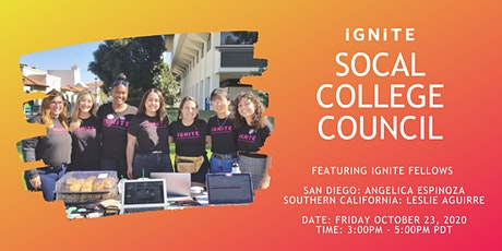SoCal College Council tickets