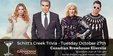Schitt's Creek Trivia - Tuesday Oct. 27 - 7:30 pm - CBH Ellerslie tickets