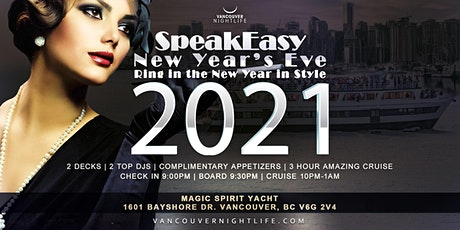 Vancouver New Year's Eve Speakeasy Cruise 2021 tickets