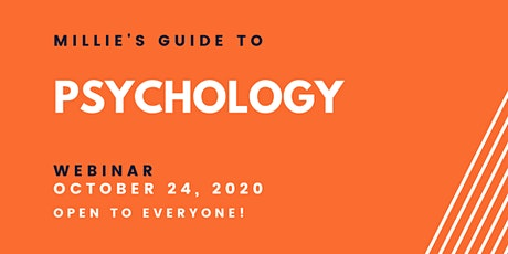 WEBINAR | Millie's Guide to Psychology tickets