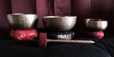 Energy Clearing with Tibetan Singing Bowl and Shamanic Drum tickets