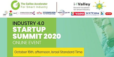 Industry 4.0 - Startups Summit 2020 (ONLINE) tickets