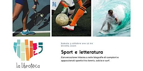 Sport e Letteratura biglietti