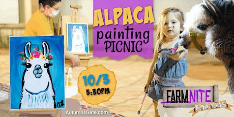 Alpaca Painting Picnic tickets