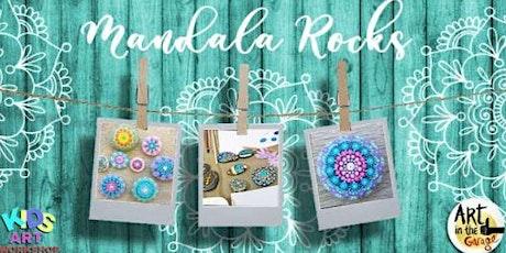 Mandala Rocks  - Kids Art Workshop tickets