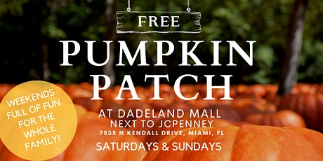 Dadeland Mall Pumpkin Patch tickets