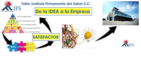 """""""Taller IFS de la IDEA  a la Empresa"""" entradas"""