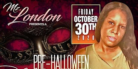 Mz. London  Presents Pre Halloween Quarantine Edition In the Backyard tickets