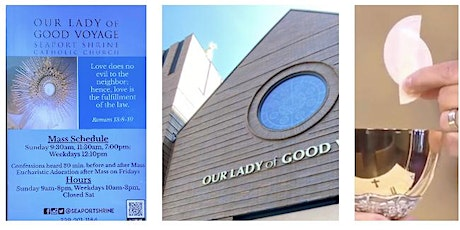 Our Lady of Good Voyage Sunday 11:30 Mass tickets
