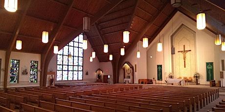 Register for Mass on Saturday October 24, 2020 & Sunday October 25, 2020 tickets